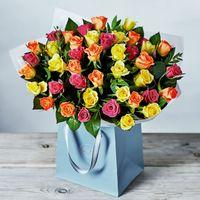 Large Sweetheart Roses Gift Bag
