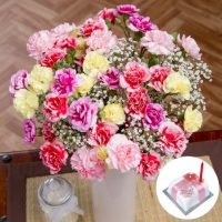 Spray Carnations bouquet