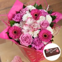 Flower bouquet & gift