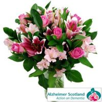 Alzheimer Scotland Bouquet by Clare Florist