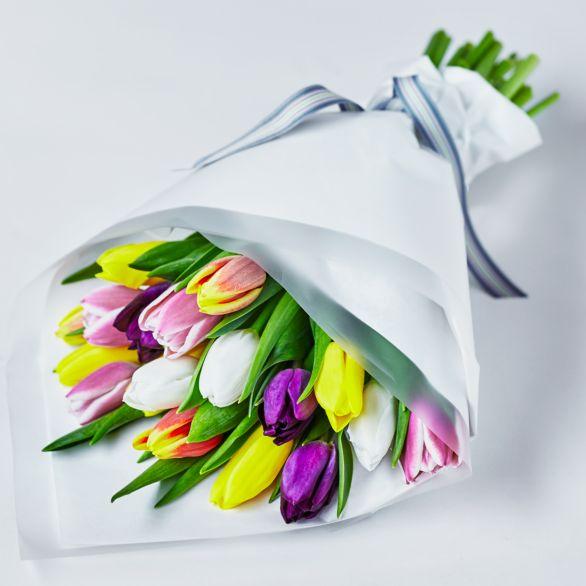 British Tulips - ready to arrange Yellowby Waitrose Florist